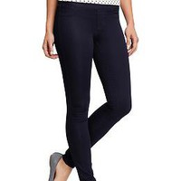 Women's Smooth Waist-Panel Jeggings | Old Navy