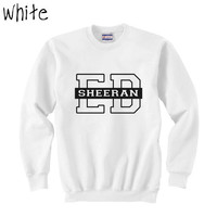Ed Sheeran Unisex Sweatshirt Size SMLXLXXL3XL