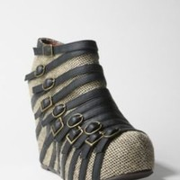 Jeffrey Campbell Multi Buckle Wedge
