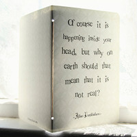 Albus Dumbledore Journal Inside Your Head Quote by literaryluxe