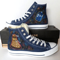 Doctor Who Converse - Dalek and Tardis