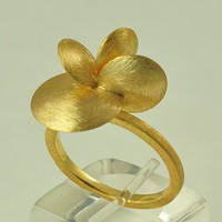 18K-Solid-Gold Handcrafted Ring, No. 003- 61