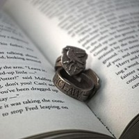 Ravenclaw Ring Size 6 by Fanatic Alley on Shapeways