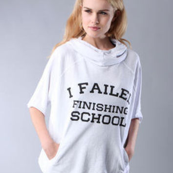 DJPremium.com - Women - Shop by Department - Hoodies - FAILED FINISHING SCHOOL HOODIE