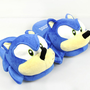 Sonic The hedgehog Adult Plush Slippers by CherryKreations21