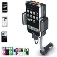 Amazon.com: NEEWER Apple iPod iPhone Accessories. Wireless FM Transmitter with remote and Car Charger for Apple iPod Touch iPod Classic and APPLE iPhone 4. Full Range Frequency: MP3 Players & Accessories