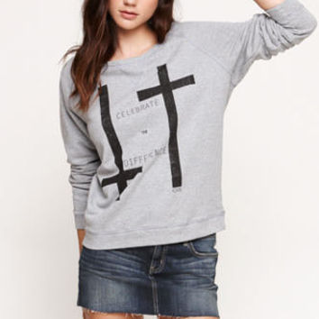 Civil Disbelief Crew Neck Pullover Fleece at PacSun.com