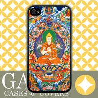 iPhone 5 Case, iPhone 4 Case, Samsung Galaxy Cover, Wisdom Buddha