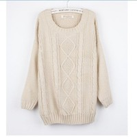Cream Sweater from Seek Vintage
