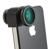 Amazon.com: Olloclip Quick-Connect Lens Solution (Fisheye Lens, Macro Lens, Wide-angle Lens)for iPhone 4 / 4S - OC-IPH4-FWM-R - Red: Cell Phones &amp; Accessories