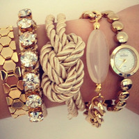 Christmas gift - Mystery Arm candy - GRAB BAG - one Bracelet