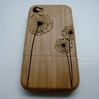 Dandelion - Bamboo Iphone Case 4S L.. on Luulla