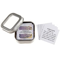 Mini Note Cards, Jesus, God, Christian, Bible Verses, Cards in a Tin