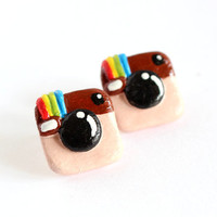 Instagram Earrings