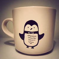 Penguin mug by Mr Teacup OR your favourite animal by MrTeacup