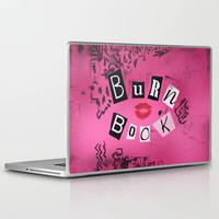 The Burn Book - Mean Girls movie - **Must order NOW for Christmas, or it will be late!!!** Laptop & iPad Skin by AllieR | Society6