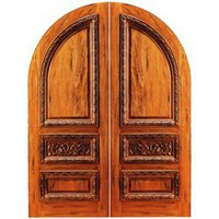 RA-1160 | Arched Rustic Doors | Entry Doors