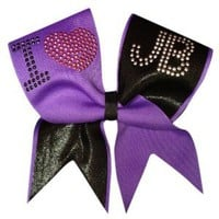 Amazon.com: I Love Justin Bieber Cheer Bow: Sports &amp; Outdoors