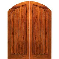 RS-1150 | Arched Rustic Doors | Entry Doors
