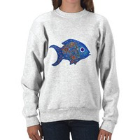 Fish Sweat shirt from Zazzle.com