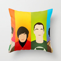 The Big Bang Theory Throw Pillow by Bantam | Society6
