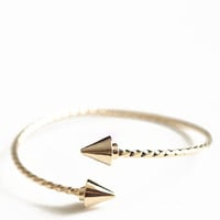 Golden Vector Bracelet - $14.00 : ThreadSence, Women&#x27;s Indie &amp; Bohemian Clothing, Dresses, &amp; Accessories