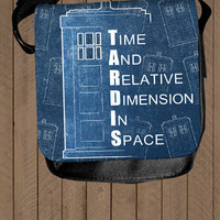 TARDIS Doctor Who - shoulder bag