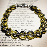 Hogwarts Collection - Mobius Bracelet - Hufflepuff