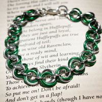Hogwarts Collection - Mobius Bracelet - Slytherin
