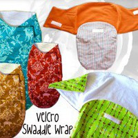 Velcro Swaddle Wrap Baby Sewing Pattern | Los Angeles Needlework