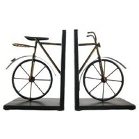 Amazon.com: Cool Metal Vintage Bicycle Bookends Book Ends Bike: Home &amp; Garden