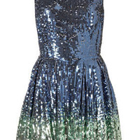 Ombre Sequin Prom Dress by Dress Up Topshop** - Dresses - Apparel - Topshop USA