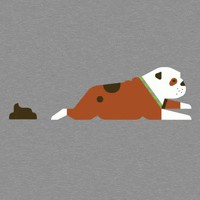 Betterbook: Bulldog Poop Dog