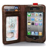 Read BookBook Leather Case for iPhone 4/4S/5 by onfancy