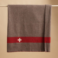 VINTAGE SWISS ARMY BLANKET - New Online Arrivals - Furniture & Decor | Robert Redford's Sundance Catalog