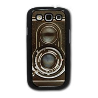 Vintage Twin Reflex Camera - Samsung Galaxy S3 Cover, Cell Phone Case