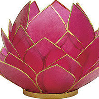 Pink Capiz Lotus