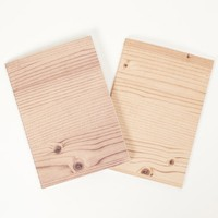 Poketo Woodgrain Eco Notebook