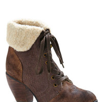 Poutine on the Ritz Bootie | Mod Retro Vintage Boots --- $122/99
