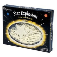 Amazon.com: Star Explosion Glow In The Dark: Toys & Games