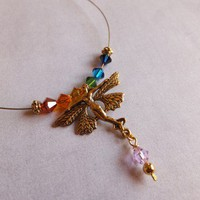 Seven Chakras Balancing Fairy Necklace