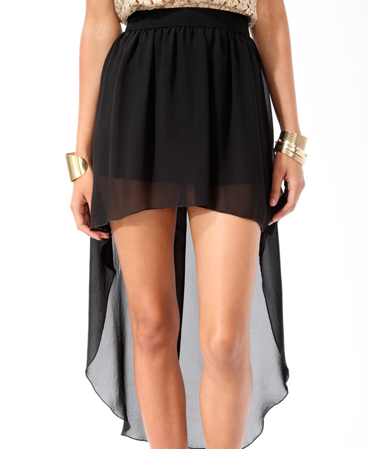 high low chiffon skirt from forever 21 dresses skirts
