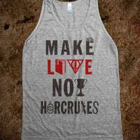 Make Love Not Horcruxes (Vintage Tank - Ladies & Gentlewoman