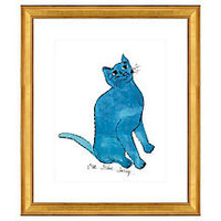 "One Kings Lane - Pop Art - Warhol, Cat From ""25 Cats Named Sam…"" I"