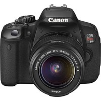Canon - Canon EOS Rebel T4i 18.0-MP Digital SLR Camera Kit with 18-55mm Lens - Black