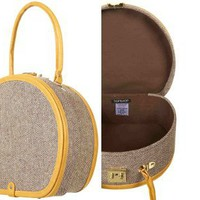 Retro To Go: Tweed Vanity Case from Topshop