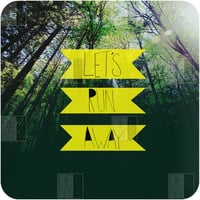DENY Designs Home Accessories | Leah Flores Lets Run Away IX Wall Art
