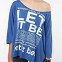 UrbanOutfitters.com > Let it Be Oversized Tee