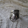 Antique Spoon Ring Vintage Flatware Jewelry