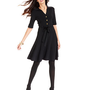 Grace Elements Dress, Short-Sleeve Belted Sweater Dress - Womens Dresses - Macy's